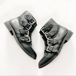 Unionbay Zoey Studded Ankle Boots (New)